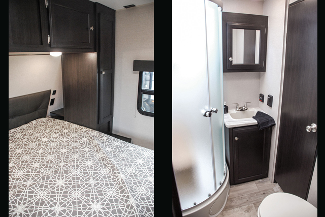 2019 Venture RV SportTrek 327VIK Rear Bunkhouse with Outside Kitchen Travel Trailer