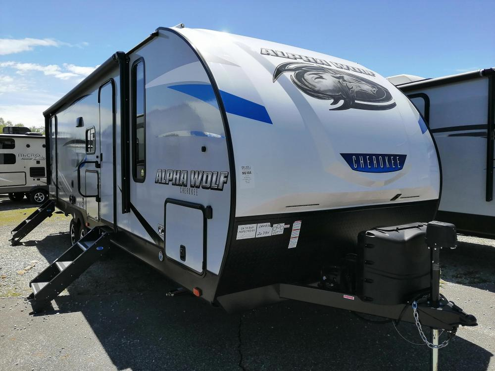 2021 Forest River Cherokee Alpha Wolf 22SW Travel Trailer ...