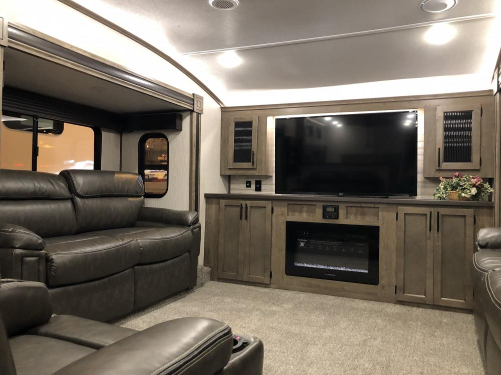 Sabre 37flh Front Living Room 5th Wheel