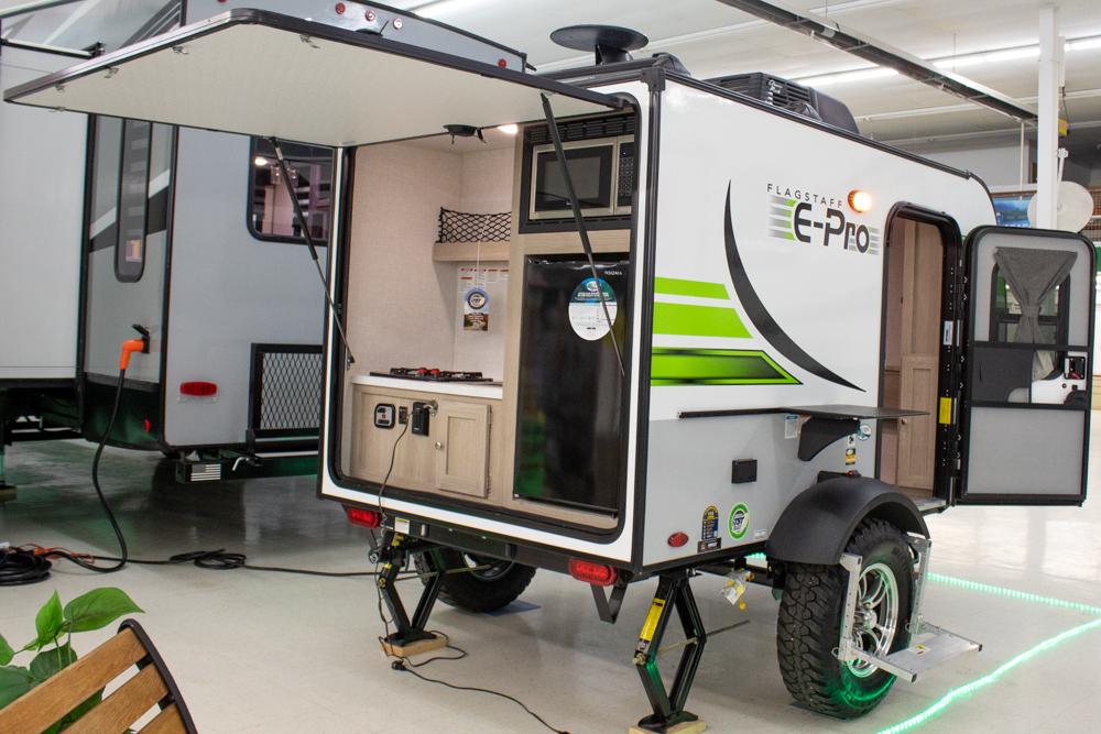 Flagstaff E-Pro E12SRK Lightweight Travel Trailer