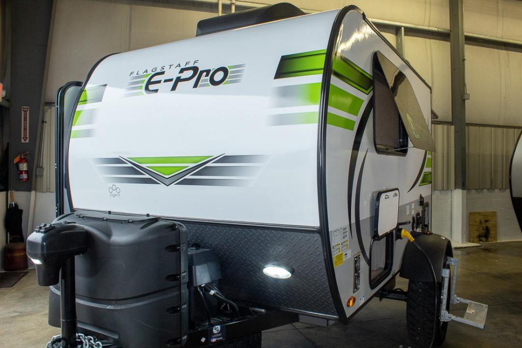 2021 Flagstaff E-Pro E12SRK Lightweight Travel Trailer