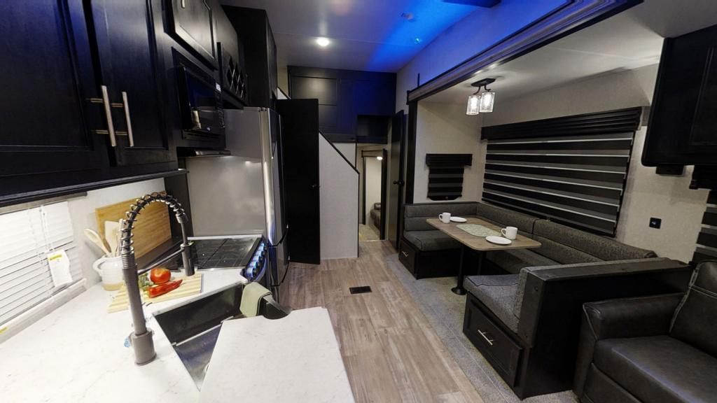 2021 Forest River Cherokee 39CA Destination Trailer with Loft, 2 Bathrooms & Office or Guest Bedroom