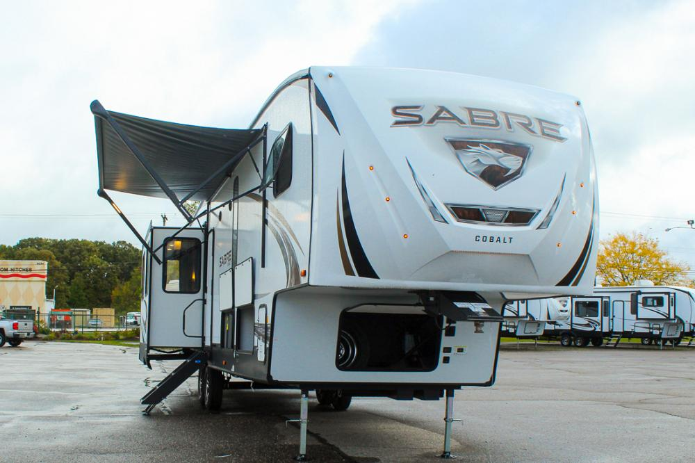 2021 Forest River Sabre 36BHQ 5th Wheel with Loft & 2nd Bedroom