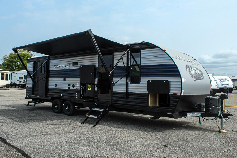 2021 Grey Wolf 26DBH by Forest River - Bunkhouse Trailer ...