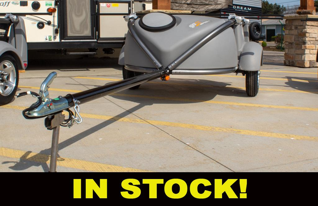 2021 SylvanSport Go Easy with Ultimate Package Utility Trailer