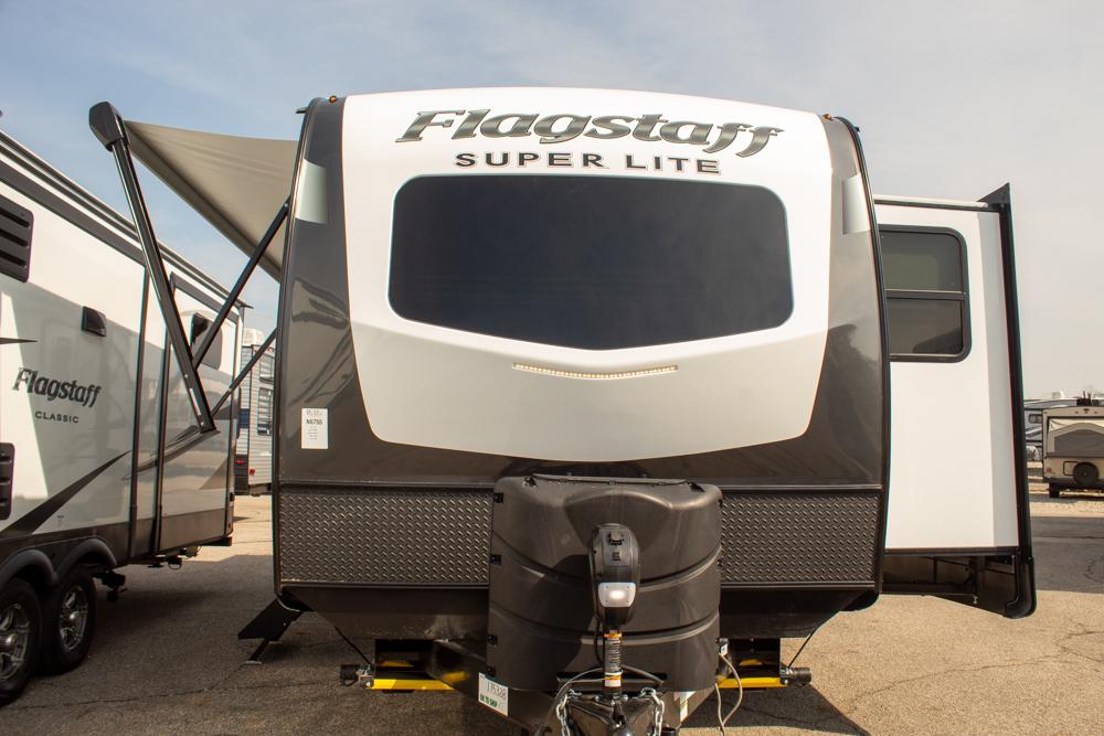 2022 Flagstaff Super Lite 26FKBS Travel Trailer with Front Kitchen