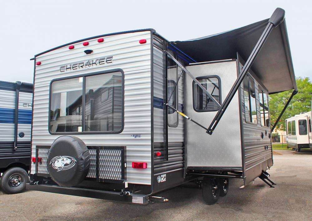 New 2020 Cherokee 274WK Rear Living Room Travel Trailer
