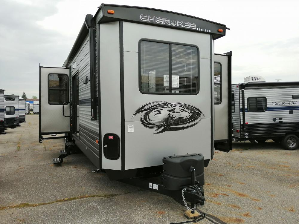 2020 Cherokee 39SR Destination Trailer with Loft and King