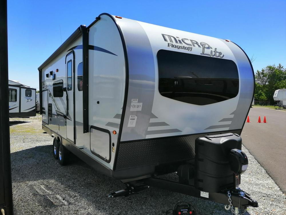 Camper Dealers In Ohio >> New 2020 Flagstaff Micro Lite 25bds Camping Trailer With Outdoor Kitchen