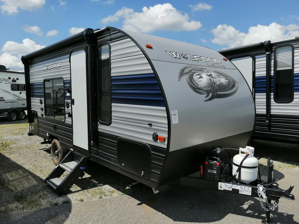 New 2021 Wolf Pup 16FQ by Cherokee - Light Weight Travel Trailer