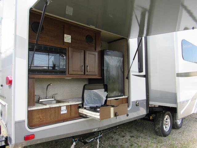 Open Range Light 308BHS - Quad Bunkhouse with Outside Kitchen Travel Trailer