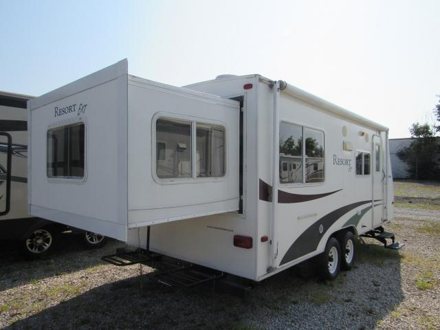 Used 2005 Fleetwood Resort 23bh Rear Slideout Bunkhouse Travel Trailer