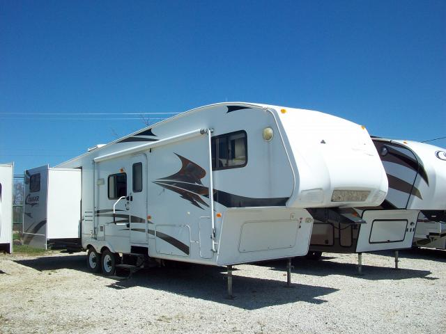 Used Fifth Wheel 2007 Cougar 289bhs With Bunks