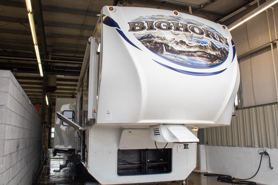 Used 2011 Heartland Bighorn 3670RL Fifth Wheel with Four Slide-outs