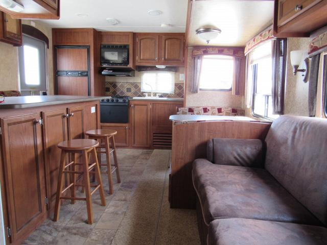 Used 2012 Jayco JayFlight 26RKS Rear Kitchen Travel Trailer