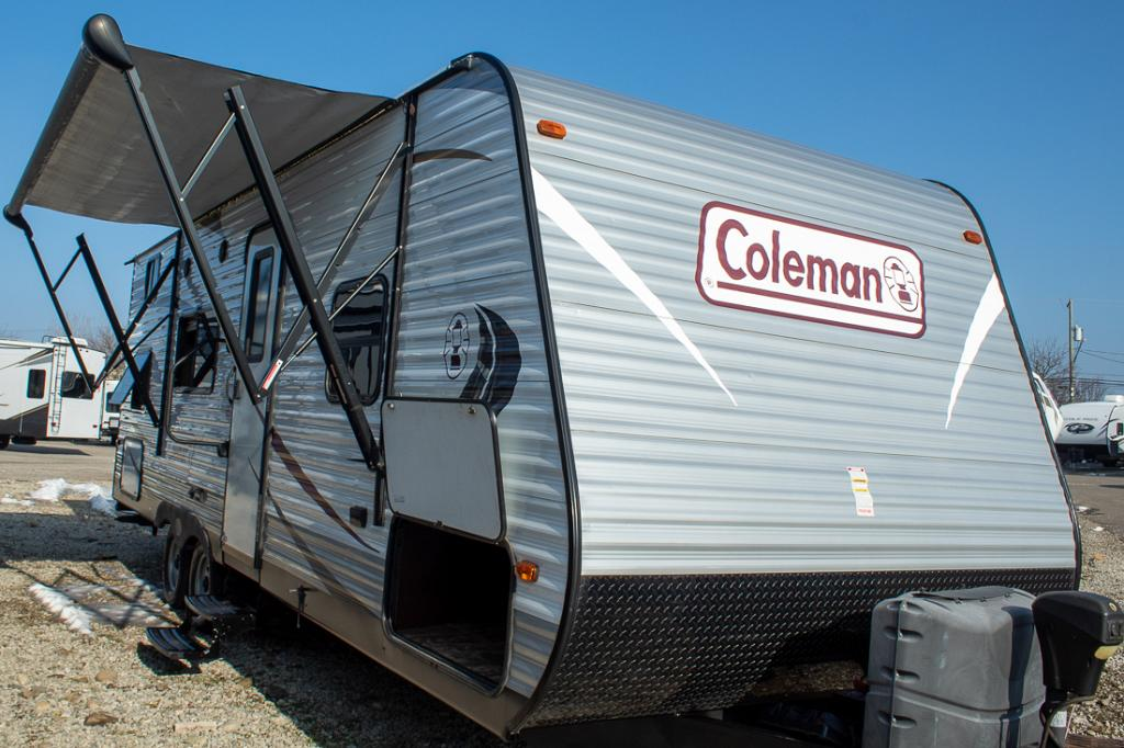 Used 2014 Coleman Expedition 274BH Travel Trailer with Bunk Beds