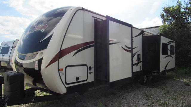 Used 2017 Kz Spree 328ik Rear Living Travel Trailer With