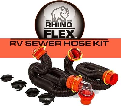 "Rhinoflex 20"" Sewer Hose Kit"
