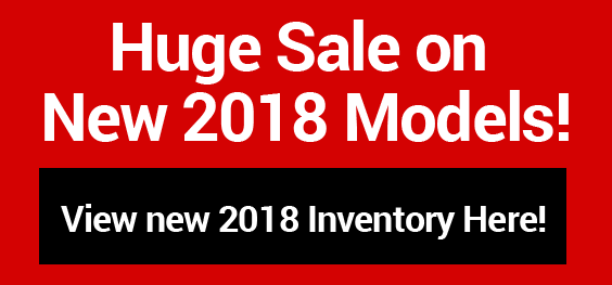 New 2018 Models on Sale